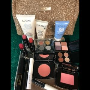 Lancôme assorted new travel products with case